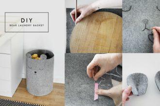 Como hacer un cesto de ropa sucia para bebe