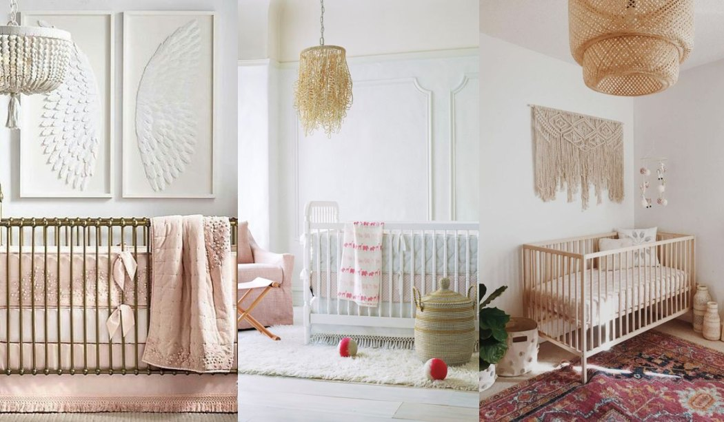 Habitaciones blancas para bebés