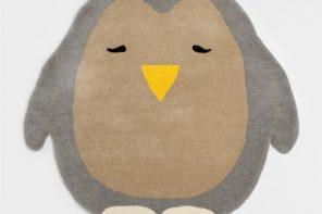 Alfombra Pingüino de Zara Home