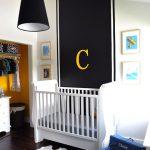 Decoración dormitorios en amarillo y negro