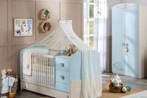 Colección de muebles Baby Boy para niños
