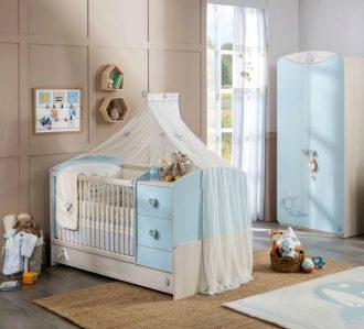 Decoracion bebes ideas de decoraci n beb s ni a ni o - Habitaciones de bebe nino ...