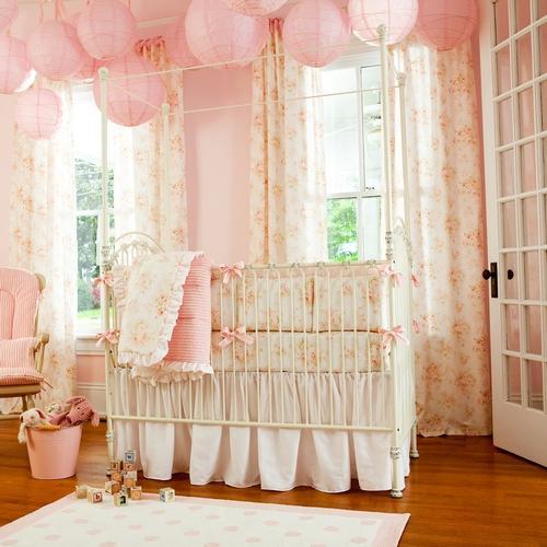Habitaciones para niñas en rosa