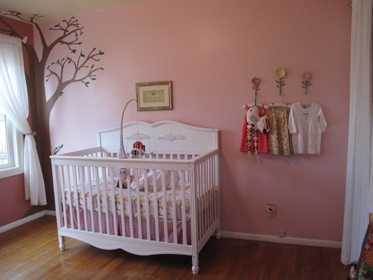 Habitaciones para ni as en rosa decoraci n beb s - Bebes y decoracion ...