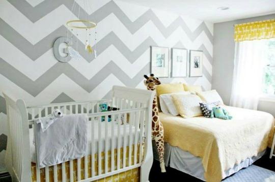 Inspiraci n solo para ni os decoraci n beb s - Decoracion dormitorio bebe nino ...