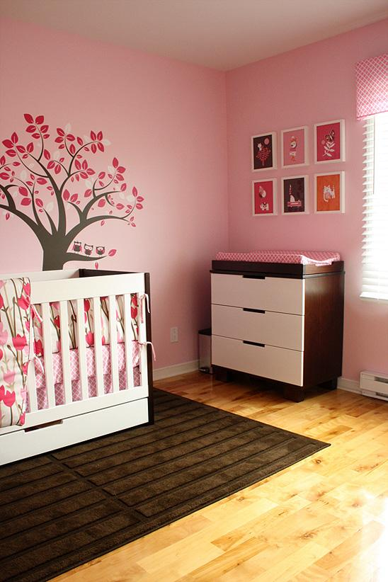 decoracin habitacion de bebe nia actual. habitacion bebe nia ...