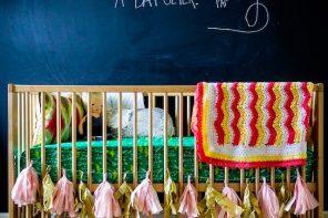 8 Habitaciones de bebé con pintura pizarra