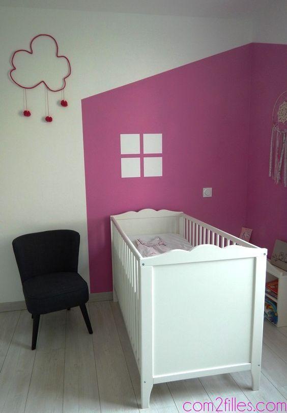 Ideas paredes habitaciones bebes