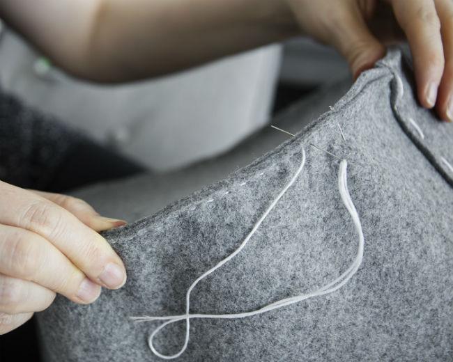 Cómo hacer un cesto de ropa sucia para bebe