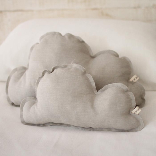 Cojines con forma de nube