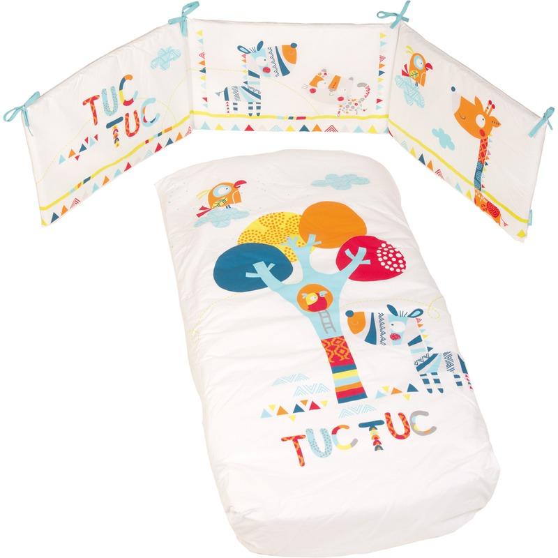 Conjuntos para vestir cunas de Tuc Tuc