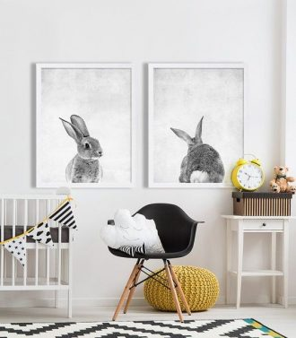 decorar con cuadros de animales