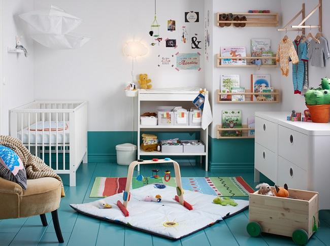 Habitaciones para bebes ikea decoraci n beb s - Cambiador gulliver ...