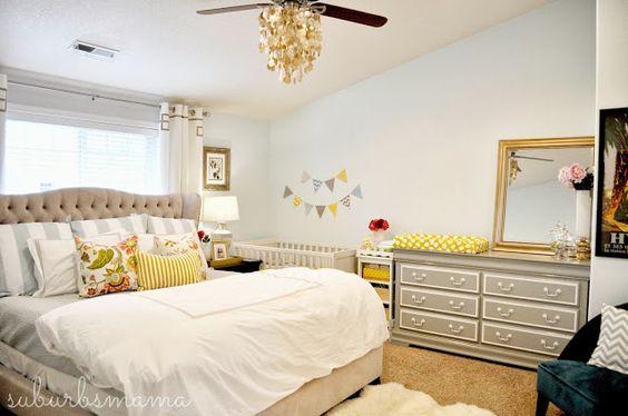 espacio para el bebé en tu habitación