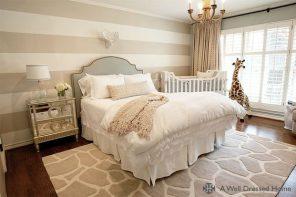 Crear un espacio para el bebé en tu habitación