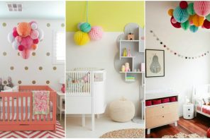 Decoración barata para bebés