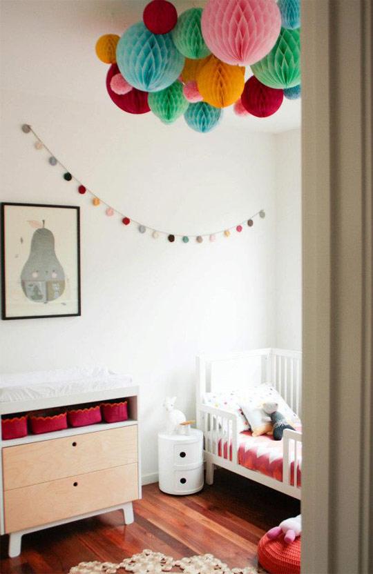 decoracin barata para bebs