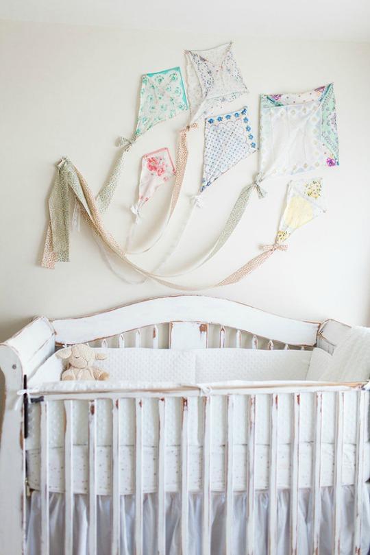 ideas decoracin bebs decorar con cometas tendencias