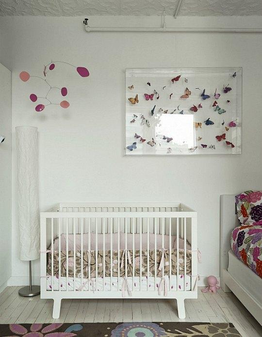 10 Habitaciones decoradas con mariposas