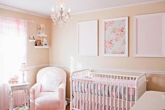 Habitaciones para bebés niñas - Imagui