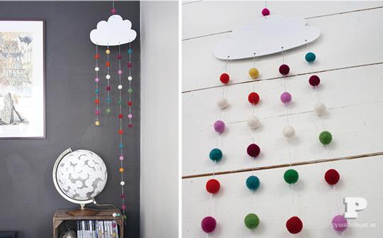 Hazlo t mismo m vil nube decoraci n beb s for Como decorar tu casa tu mismo