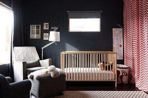 10 Dormitorios de bebés de color negro | DECORACIÓN BEBÉS