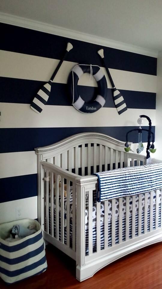 El dormitorio marinero de Landon