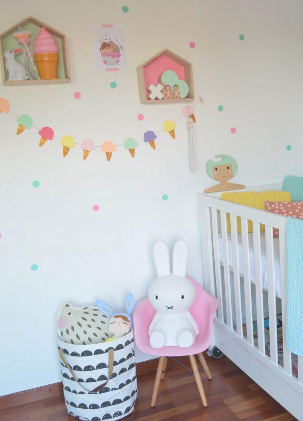 Decorar con estanter as con forma de casita decoraci n beb s - Estanterias para bebes ...