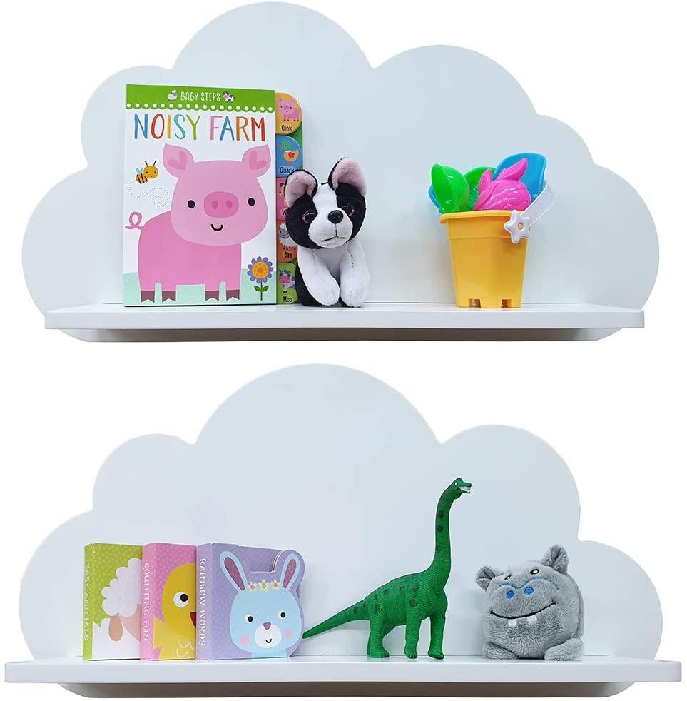 Estanterías con forma de nube para bebés