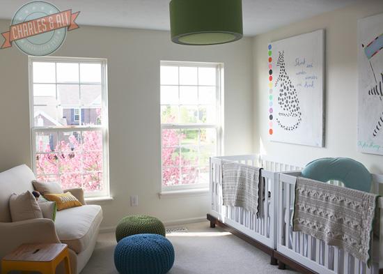Dormitorio para dos bebes