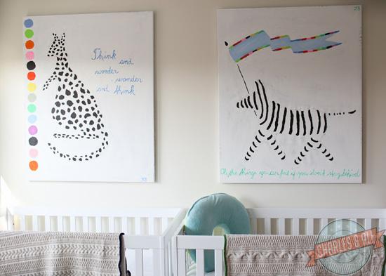 fotos dormitorio para dos bebes