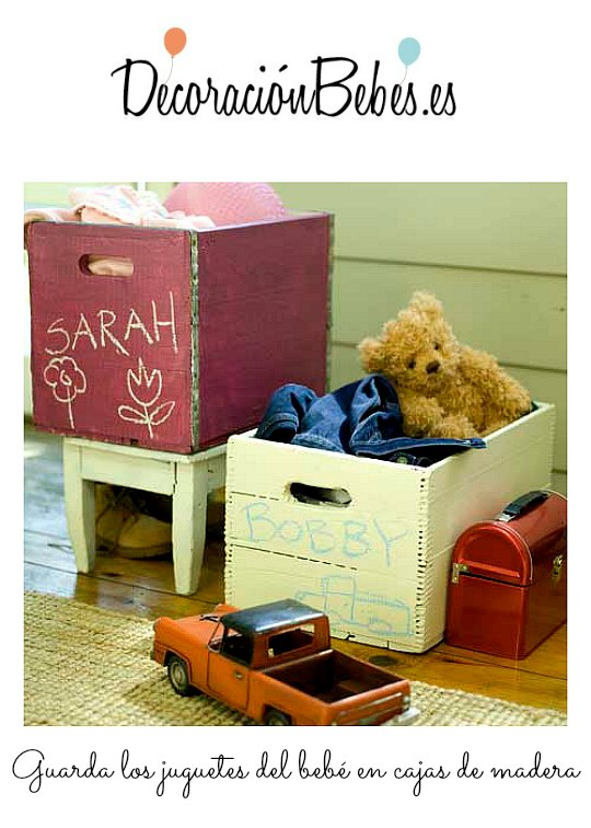 4 Ideas para guardar los juguetes de los niños
