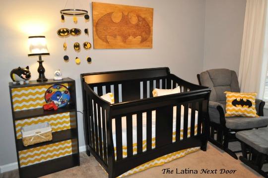 Inspiración habitación Batman