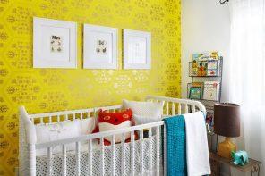 15 Dormitorios de bebé de color amarillo