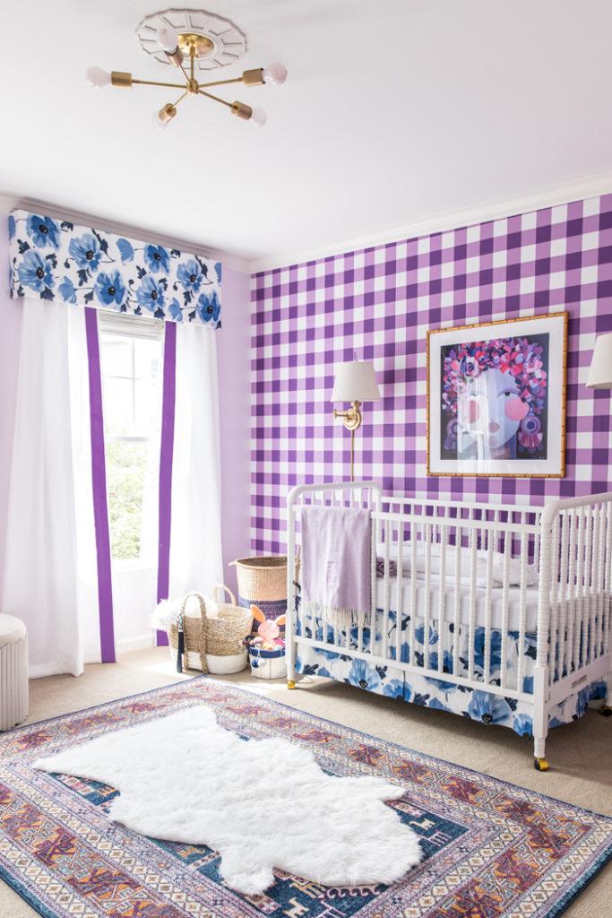 decoracin bebs con cuadros y flores