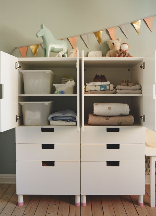 habitaci n beb de ikea decoraci n beb s. Black Bedroom Furniture Sets. Home Design Ideas