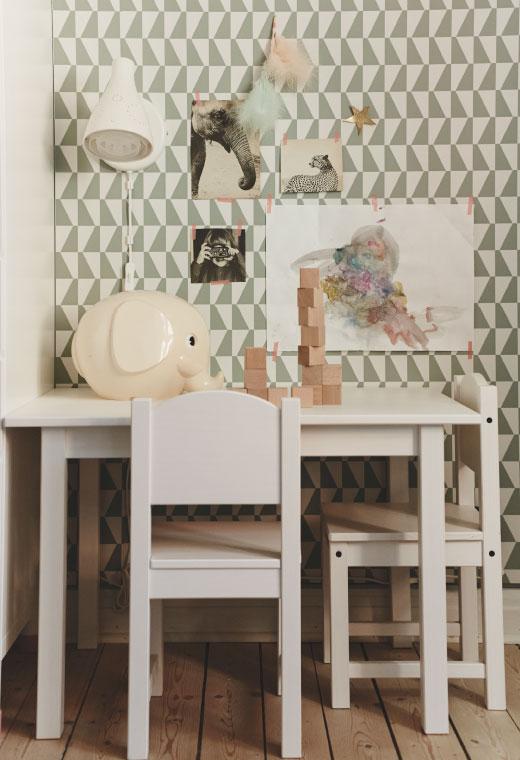 Decoracion Habitacion Bebe Ikea ~ Almacenaje serie Stuva, mesa y sillas Sundvik, coj?n nube Fjadermoln