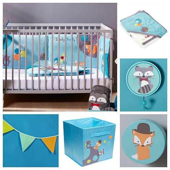 Decoración habitación bebé barata
