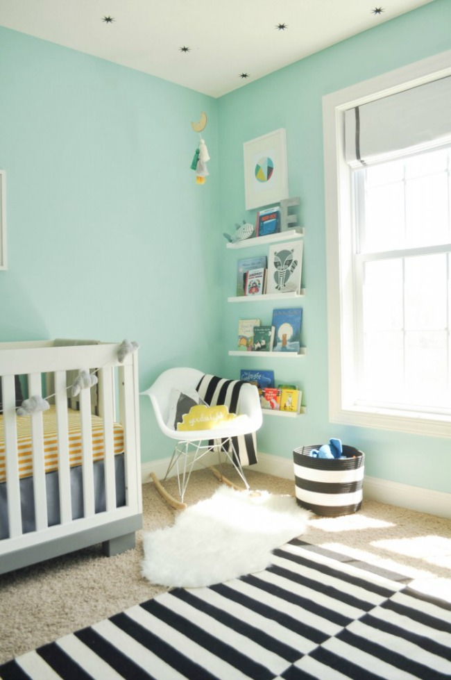 tendencia color mint en decoracin para bebs