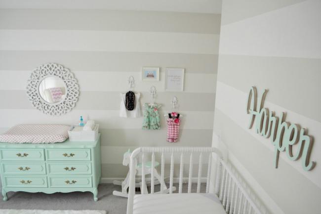 Tendencia Color Mint En Decoraci N Para Beb S Decoraci N