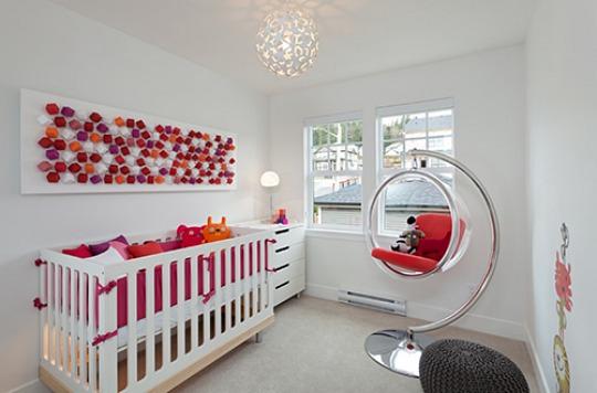 Fotos de habitaciones de bebés modernas  DECORACIÓN BEBÉS