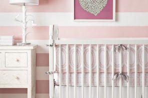 Habitaciones de bebes a rayas