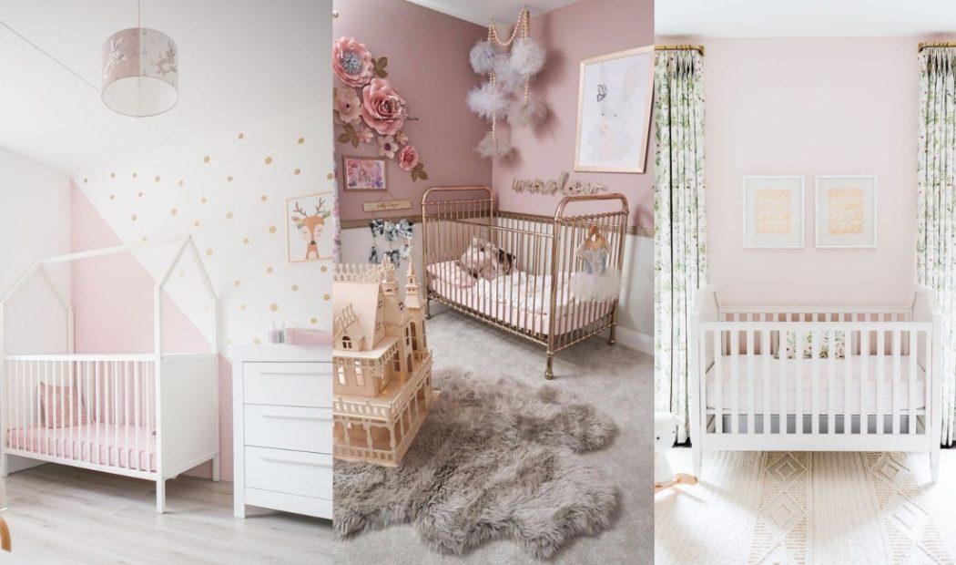 Habitaciones bebe rosa fotos
