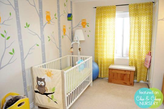 Habitaciones temáticas de bebés