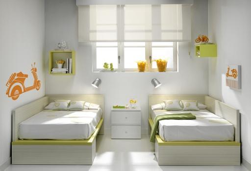 Cuna convertible para gemelos decoraci n beb s - Habitaciones de bebe convertibles ...