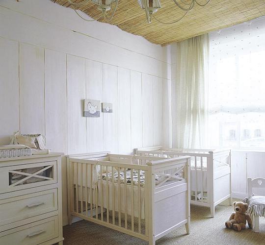 Decoración habitaciones de gemelos