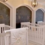 Original dormitorio para tres bebés