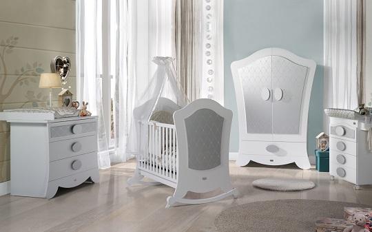 Habitaciones cl sicas para bebes decoraci n beb s - Vinilos para habitaciones de bebes ...