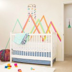 Decorar la habitación del bebé con washi tape