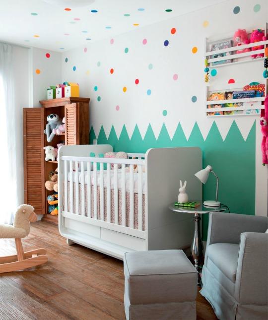 Un cuarto para el bebé a todo color | DECORACIÓN BEBÉS